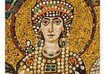 Teodora en la mesa. Ravenna, ITALIA