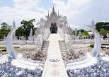 Chiang Rai White and Black and Blue Temple. Chiang Rai, Thailand