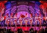 Paris Moulin Rouge Cabaret Show with VIP Seating & Champagne, Paris, França