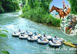 Chukka's Best of the West Island Experience (zip, tube & horse ride/swim). Negril, JAMAICA