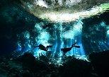 Tulum Cenote 2-Tank Dive com Instrutor Certificado, Snacks,