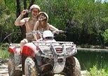 Excursão de aventura ATV em Cancun com nadada na selva, mangue e praia,
