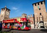 Excursão em ônibus panorâmico pela cidade de Verona. Verona, Itália