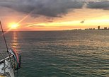 Panama City Beach Gulf of Mexico Sunset Catamaran Sail. Panama City Beach, FL, UNITED STATES