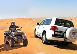 Dubai Desert 4x4 Dune Bashing, Self-Ride 30min ATV Quad, Camel Ride,Shows,Dinner,