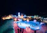 Explore Lake Shikotsu Ice Festival (night tour). Sapporo, JAPAN