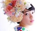 2【MOMIJI course】Kimono Rental, Makeup & professional Photo shoot. Beppu, JAPAN