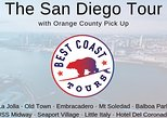 The San Diego Tour: La Jolla, Old Town, Gaslamp, Coronado -from Orange County. Newport Beach, CA, UNITED STATES