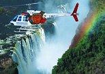 Vuelo en helicóptero Flight of the Angels por las cataratas Victoria. Cataratas Victoria, ZIMBABUE