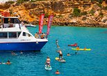 Cala Comte and Cala Bassa Beach Hopping Cruise, Paddle Surf-Snorkel-Drinks- FYB. Ibiza, Spain