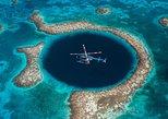 Excursão de helicóptero às cidades de Belize e Blue Hole e Ilhas Turneffe. Ciudad de Belice, Belize