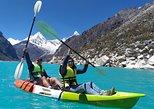 Tours a la laguna Paron con paseo en Kayak y Bote. Huaraz, PERU