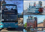Hop-on Hop-off Tour : combined City Tour by Bus and Boat. Hamburg, GERMANY
