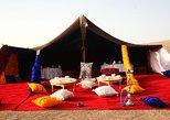 Jantar mágico no deserto de Marrakech,