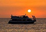Crucero con visitas a Cala Comte y la playa de Cala Bassa al atardecer. Ibiza, ESPAÑA