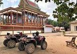 Por do sol de ATV e classe de cozimento. Siem Reap, Camboja