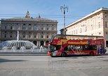 Tour em ônibus panorâmico pela cidade de Gênova. Genova, Itália