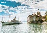 Lavaux, Montreux, Cruzeiro Mundial de Barco a Vapor de Chaplin a partir de Genebra. Ginebra, Suíça