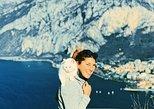Hiking on Lake Como Mountains. Lago Como, ITALIA