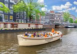 City Canal Cruise with Bar on board and Departure to Anne Frank House,