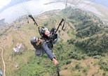 Tandem Paragliding Flight (Cross Country). Pokhara, Nepal