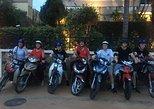 Saigon night with local on mototrbike, Ho Chi Minh, VIETNAM