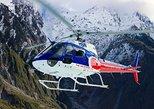 Franz Josef Mountain Scenic Helicopter Flight. Glaciares Franz Josef y Fox, New Zealand