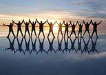 Starlight sun rise mirror effect. Uyuni, BOLIVIA