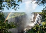 Victoria Falls: A view from the ground & and from Bird's Eye!. Livingstone, Zimbabwe