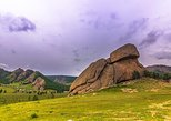 A day trip to Terelj National Park and Statue of Chinggis Khan. Ulan Bator, MONGOLIA