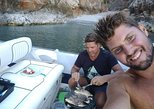 Fish and Wine Dinner on a boat, Chania, ,