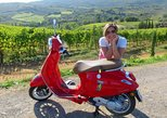From San Gimignano: Half Day Vespa tour of Chianti with Lunch. San Gimignano, ITALY