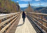 Myra Canyon Hike and Heritage Farm Tour, Kelowna y Okanagan Valley, CANADA