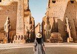 Excursión privada por las orillas este y oeste del Nilo con entradas. Luxor, EGIPTO