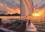 Sunset Cruise : Moorea Sailing on a Catamaran named Taboo. Papeete, TAHITI