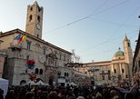 Ascoli Piceno..ride long medieval squares, Ascoli Piceno, Itália