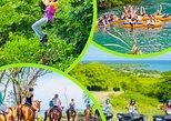 Chukka Cove Adventure Tour-Zipline & Tubing / ATV Off Road - Horse Back Riding. Trelawny, JAMAICA