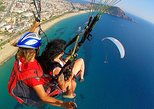 Paragliding in Alanya from Antalya region. Belek, Turkey