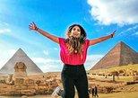 Excursão saindo do Cairo para as Pirâmides de Gizé com passeio de camelo e visita ao Museu Egípcio,