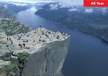 Lysefjord and Pulpit Rock Cruise - Round Tour from Stavanger. Stavanger, NORWAY