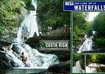 Mega Zipline over 11 Waterfalls at Adventure Park Vista Golfo. Puntarenas, COSTA RICA