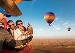 Hot Air Balloon Ride over Dubai Desert, Breakfast, Falcons & 1950s Land Rover,