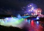 Recorrido nocturno por las Cataratas del Niágara con crucero y cena. Cataratas del Niagara, CANADA