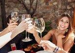 Taormina gastronomía y degustación de vinos a pie. Taormina, ITALIA