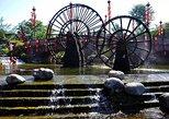 Chengdu para a cidade antiga de Huanglongxi, excursão privada no campo. Chengdu, CHINA