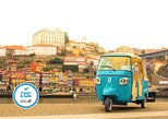 Visita guiada al centro histórico en un Tuk Tuk. Oporto, PORTUGAL