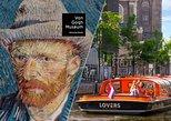 Entrada al museo Amsterdam Van Gogh más crucero por el canal turístico,