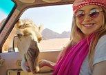 Tour privado: Recorrido de Aventura en Wadi Rum en Jeep y Camello desde Petra. Petra, JORDANIA