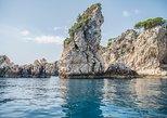 Paseo en barco de día completo en la costa de Taormina con almuerzo Isola Bella. Taormina, ITALIA