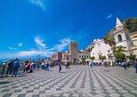 Excursão a pé e vinho em Taormina, teatro grego sem filas. Taormina, Itália